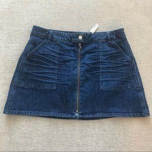NWT Madewell Denim Skirt - size 32